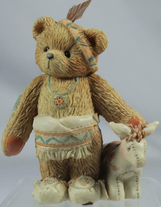 Cherished Teddies 617121 Wylie Im Called Little Friend Indian Boy