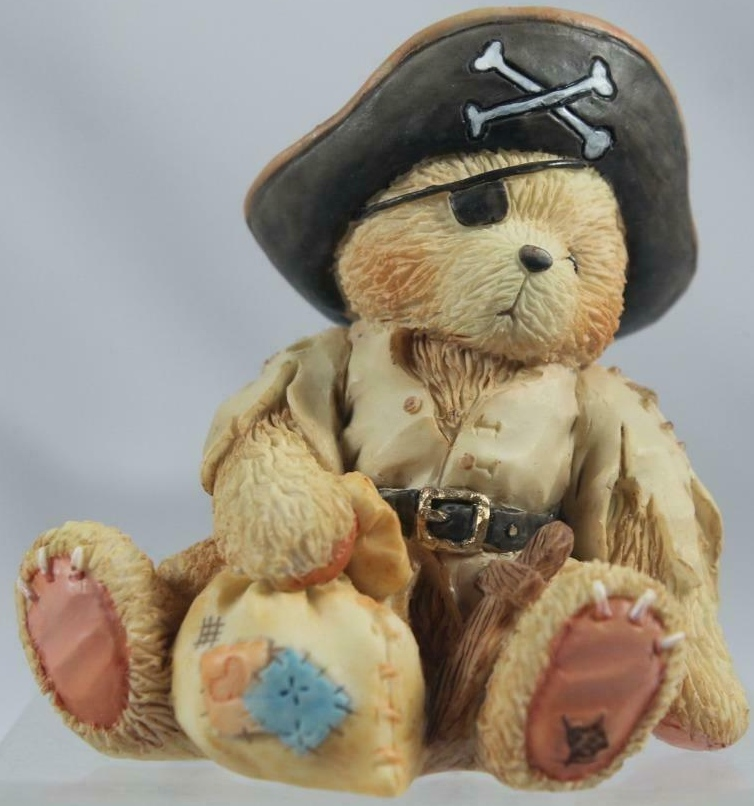 Cherished Teddies 617156 Taylor Sail The Seas With Me Dressed As Pirate