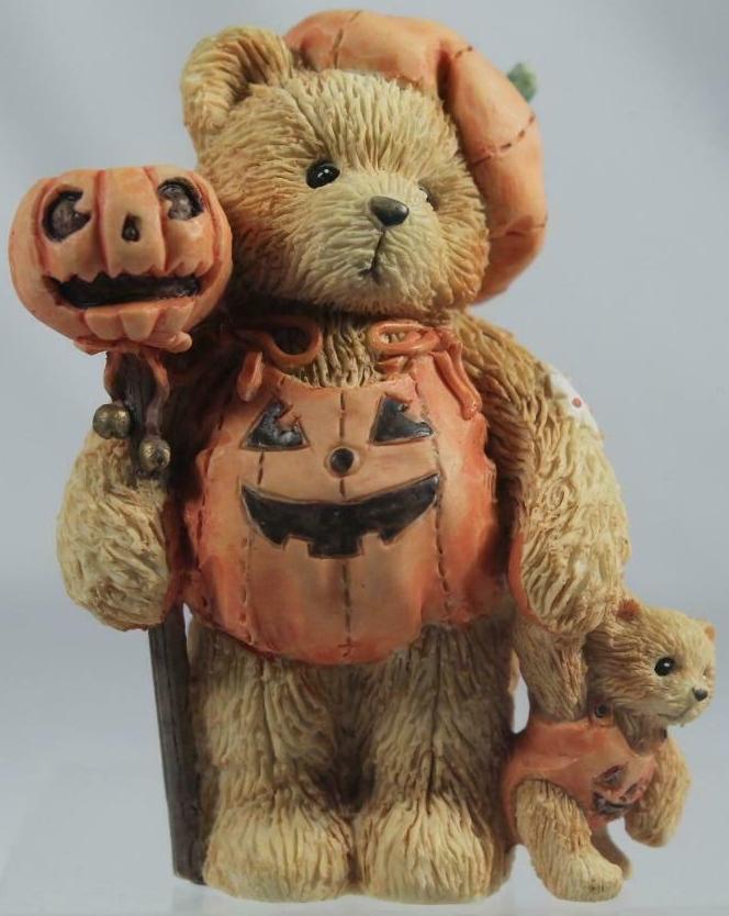 Cherished Teddies 617180 Breanna Pumpkin Patch Pals