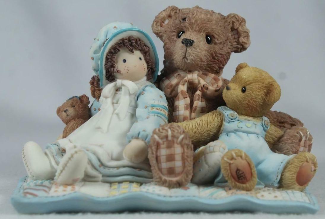 Cherished Teddies 786691 Friends Are The Thread