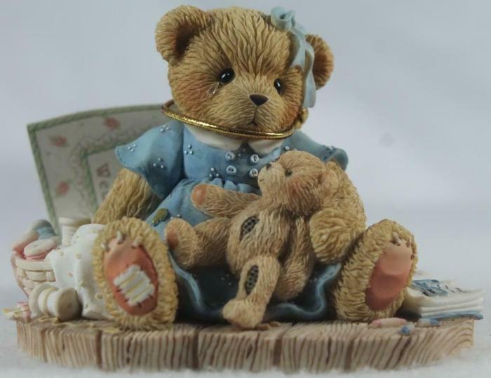 Cherished Teddies 789704 Wendy Wednesdays Child Is Full Of Woe