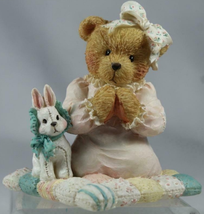 Cherished Teddies 911429 Patrice Thank You For The Sky So Blue Praying