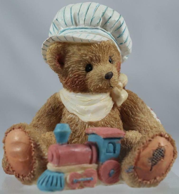 Cherished Teddies 911739 Thomas Chuggin Along Brother Bear Series