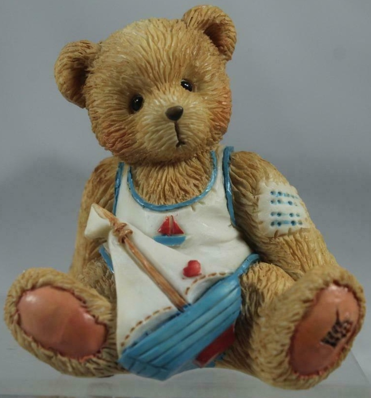 Cherished Teddies 914827 Arthur Smooth Sailing-August