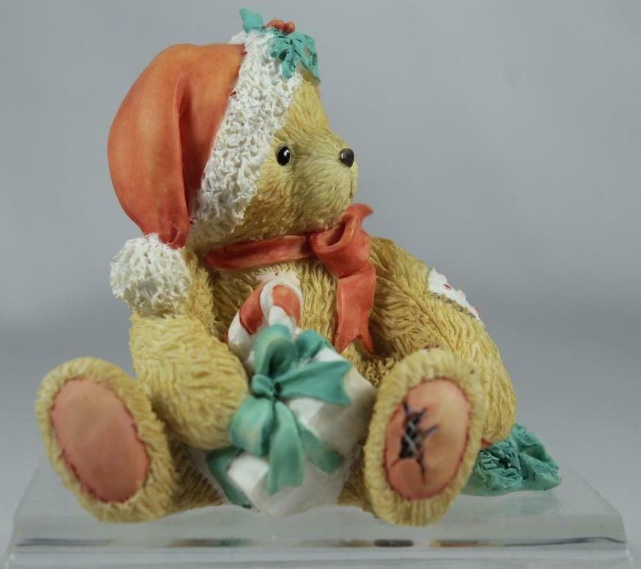Cherished Teddies 914878 Denise Happy Holidays Friend December