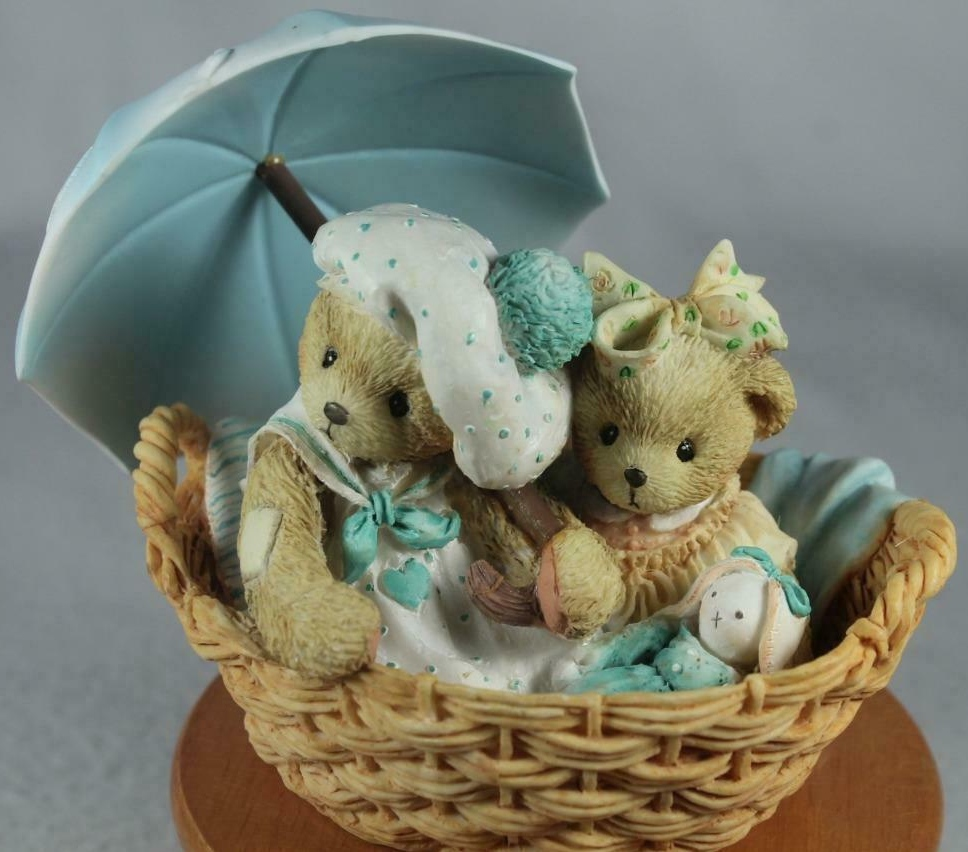 Cherished Teddies 950645 Beth & Blossom Friends Are Never Musical