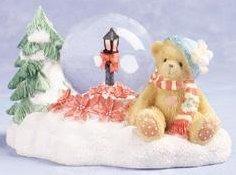 Cherished Teddies 979260 December Mini Waterball