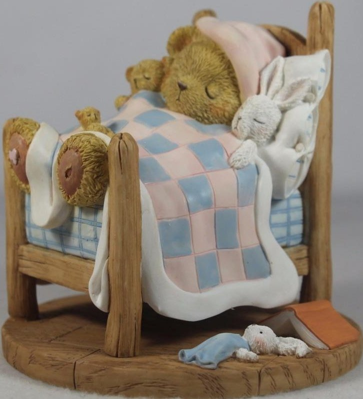 Cherished Teddies CT1401 Carisa Good Night Sleep Tight 2014 Club