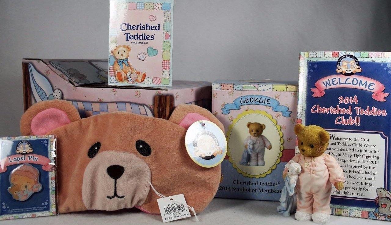 Cherished Teddies CTNR14 Georgie Good Night Sleep Tight 2014 Club Kit