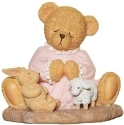 Cherished Teddies 12468N Girl Prayer Figure
