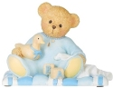 Cherished Teddies 12479N Baby Boy Figure - Sean