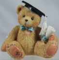 Cherished Teddies 127949 The Best Is Yet To Come Boy Graduation