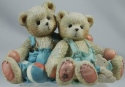 Cherished Teddies 127973 Travis and Tucker Were In This Together