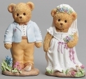 Cherished Teddies 12926N Wedding Couple Figure