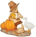Cherished Teddies 133483N Ephraim Bear With Goose