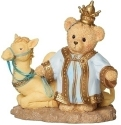 Cherished Teddies 133484N Bear King With Camel For