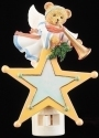 Cherished Teddies 133488 Snow Angel Bear Nightlight