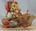 Cherished Teddies 141127 Ginger Painting Your Holidays With Love Elf