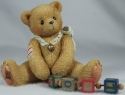 Cherished Teddies 176141 Nolan A String Of Good Tidings