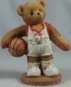 Cherished Teddies 203440 Larry You're My Shooting Star Basketball