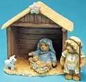 Cherished Teddies 4007182 Tis the Season To Remember Him