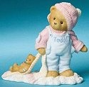 Cherished Teddies 4008158 Wishing You A Warm Wooly Season