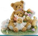 Cherished Teddies 4009176 Friendships Bloom Like Spring Flowers