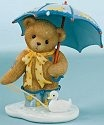Cherished Teddies 4009578 Rain Has Come Time For Puddle Fun