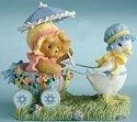 Cherished Teddies 4012272 Spring Is Filled With Egg-citement