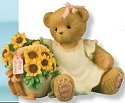 Cherished Teddies 4012859 The Beauty of Moms Love Blooms Forever
