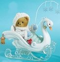 Cherished Teddies 4013426 The Magic of A White Christmas