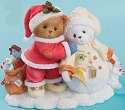 Cherished Teddies 4013428 Friendship Is Sharing The Warmth of The Season With You