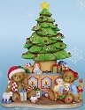 Cherished Teddies 4014303 Sharing All The Fun of The Season