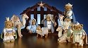 Cherished Teddies 4014783 O Little Town of Bethlehem 2000 Set LE