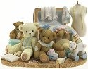 Cherished Teddies 4016839 Memories From The Attic Figurine