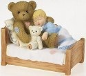 Cherished Teddies 4016846 Bear With Child Sleeping