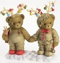 Cherished Teddies 4016863 Dressed As Reindeer