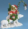 Cherished Teddies 4016865 Riding Polar Bear