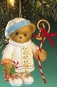 Cherished Teddies 4016868 Holding Gingerbread Man Ornament