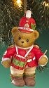 Cherished Teddies 4016870 Dated 2010 Toy Soldier Bear Ornament