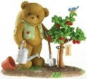 Cherished Teddies 4019254 Planting Apple Trees