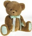 Cherished Teddies 4019569 Jointed Bear With Quilted Paws