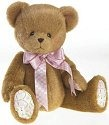 Cherished Teddies 4019570 Jointed Bear With Quilted Paws