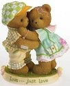 Cherished Teddies 4020568 Love Just Love Figurine