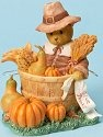 Cherished Teddies 4023731 Bear Dressed as Pilgrim Figurine
