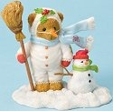 Cherished Teddies 4023733 Bear Dressed as Snowman