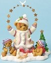Cherished Teddies 4023737 Peaceful is a Winter Sky