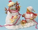 Cherished Teddies 4023739 Snowbear Decorating Figurine