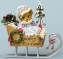 Cherished Teddies 4034593 Sleigh Bells Ring While Glad Hearts Sing