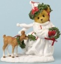 Cherished Teddies 4034594 Theres Snow Christmas Like A White Christmas